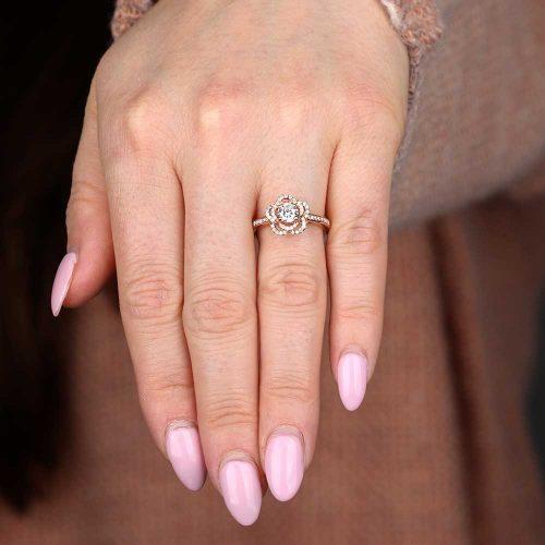 Rosegold Diamond Jewelry